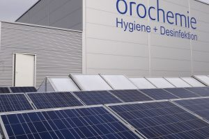 orochemie-Dach Fotovoltaik-Anlage